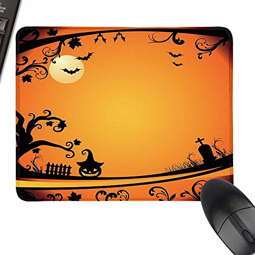 Vintage Halloween Thicken Mouse Pad Halloween Themed Image