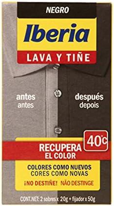 Iberia - Lava y tiñe negro iberia: Amazon.es: Belleza