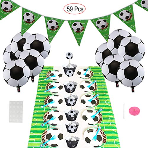 Mattelsen Fútbol Temáticas Decoraciones de Fiesta con Balones ...