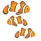 Underwater Tropical Clown Fish Wall Sticker Mural