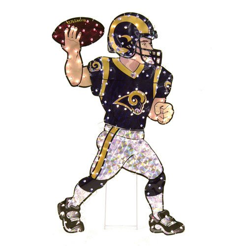 SC Sports St. Louis Rams Animated Lawn Figure - St.Louis Rams One Size by SC Sports