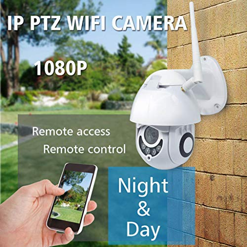 YKYK 1080P Wireless WiFi IP Camera Outdoor Night Vision Home Security Two-Way Voice