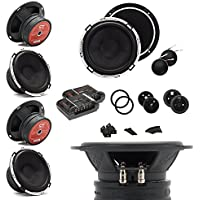 CT Sounds Meso 6.5-Inch Silk Dome Component Car Speakers - Set of 4