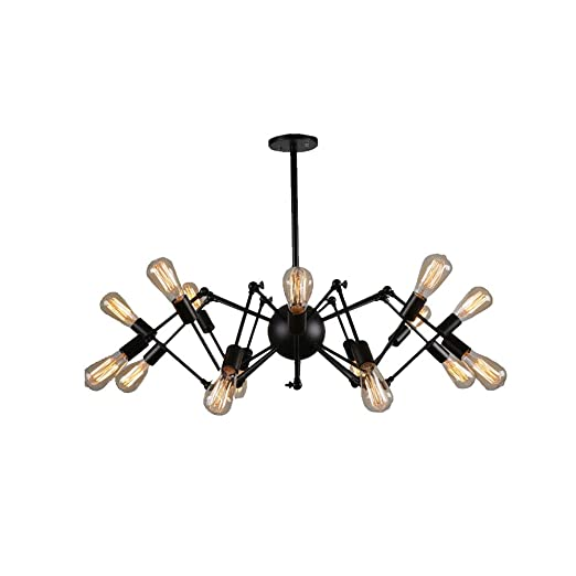 Amazon.com: Glanzlight,GL-63428, 16 Luces Modernas Lámpara ...