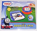 Thomas & Friends Art Desk & Swirling Paint Station - Doodle & Spin