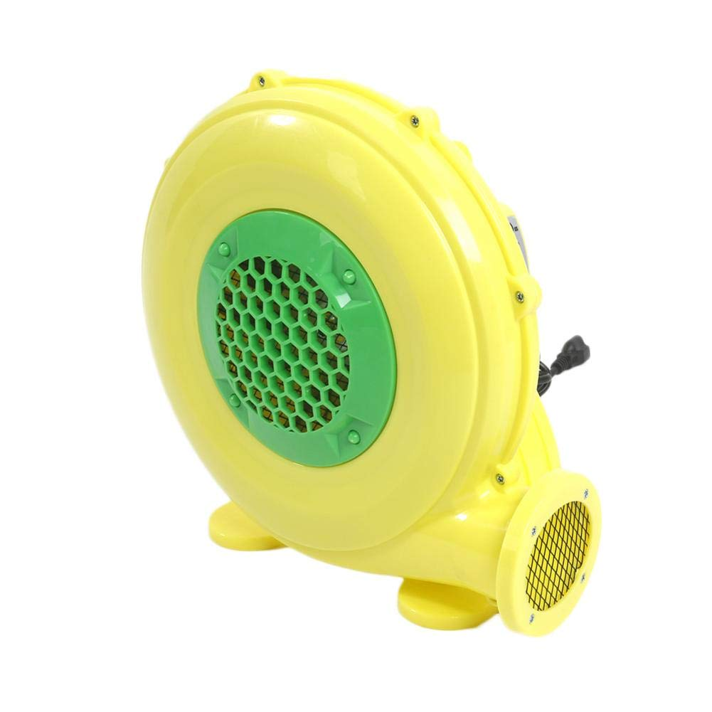 TomaticAu 110V-120V 60Hz 4.2A 480W High Velocity Blower Fan PE Engineering Air Blower US Plug Yellow
