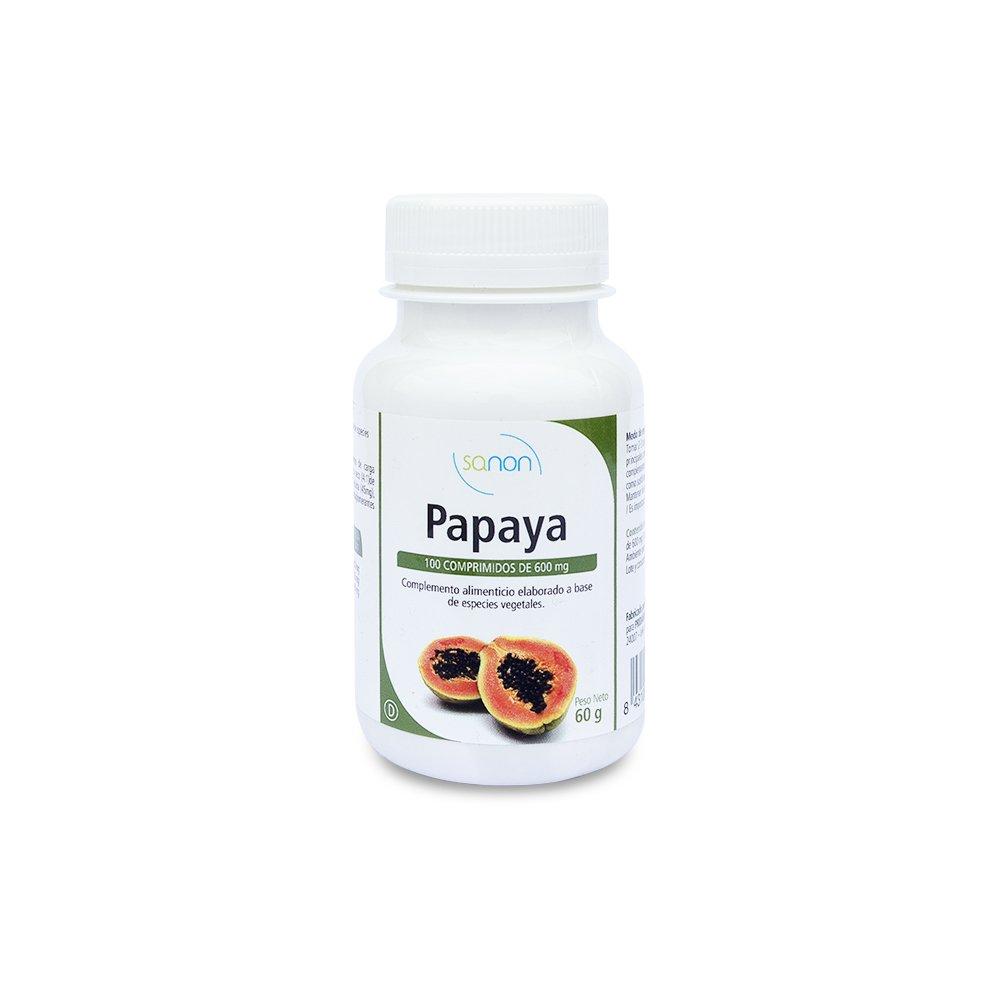Sanon Enzimas de Papaya - 3 Paquetes de 100 Cápsulas: Amazon.es: Salud y cuidado personal