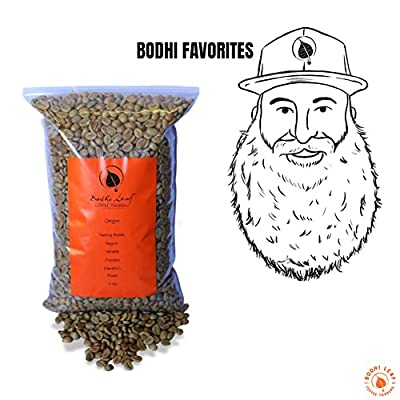 Bodhi Favorites Sampler Pack - Top 5 Unroasted Coffees Recommended By our Roasters - Green Coffee Beans - 100% Arabica Raw Coffee - Specialty Grade, Direct Trade