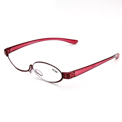 d592d29baeaa Image Unavailable. Image not available for. Color: oudlme Adjustable lens  cosmetic use of eyeglasses eyeglasses makeup reading glasses enlarged  folding ...