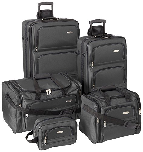 Samsonite Luggage Set - Five Piece Nested Set (One size, Charcoal)