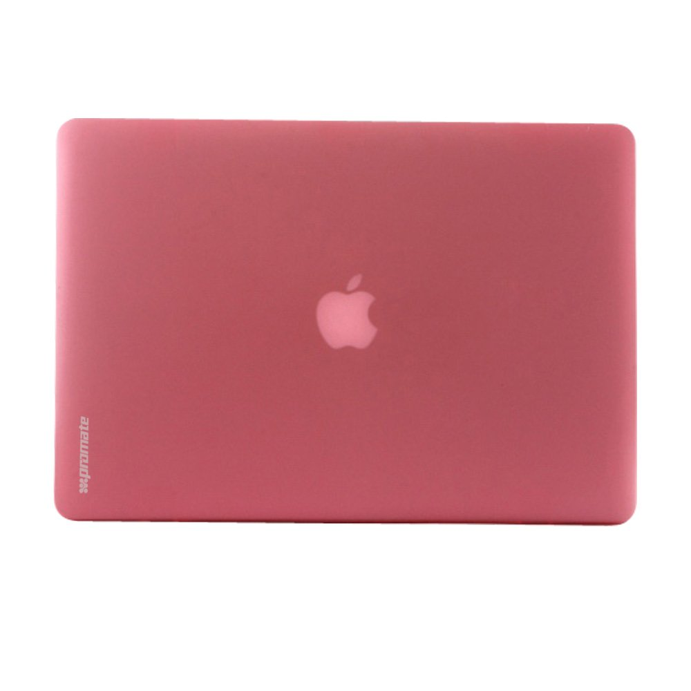 Promate MacBook Pro for 13 Inch Removable Snap-On Transparent Soft Shell Case Pink Macshell-PRO13