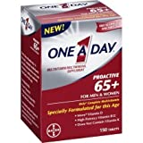 One a Day Proactive 65+ for Men & Women Multivitamin/Multimineral Supplement, 150 count