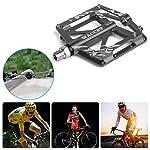 WACCET-Pedali-Bicicletta-Pedali-MTB-in-Alluminio-Anti-Slittamento-Bici-Pedali-916-Sealed-Cuscinetto-Ultraleggeri-Pedali-Bici-da-Ciclismo-Pedali-per-Bici-MTBBMX