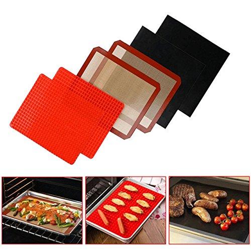 AMZLUCKY - Silicone Baking Mat Non-stick Oven Cake Rolling Mat Multifunctional Baking Macaron Pad Bakeware Kitchen Baking&Pastry Tools