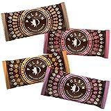 Pulsin Raw Choc Brownie Snack Bars Range Mixed Case   20 x 50g Bars  