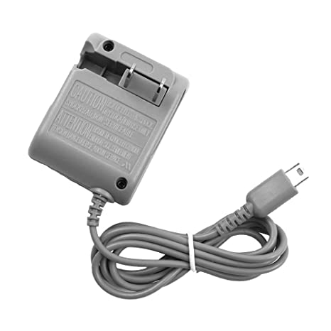 Charger Power Supply AC Adapter Wall Charger Power Cord 5.2V 450mA for Nintendo DS Lite, NOT Compatible with Nintendo DS/3DS/3DSXL/DSI/DSIXL
