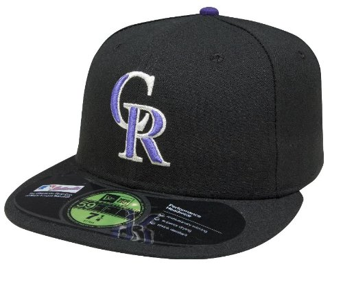 (New Era MLB Colorado Rockies Game AC On Field 59Fifty Fitted Cap-712)