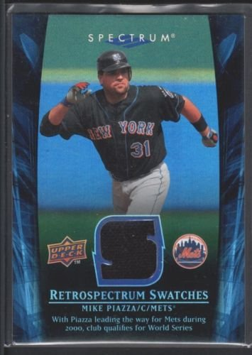 mike-piazza-2008-upper-deck-spectrum-retrospectrum-game-jersey-athletics-sp-15