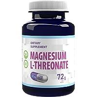 Magnesium L-Threonaat 2000mg per portie 120 Vegan Capsules, puur, zonder vulstoffen