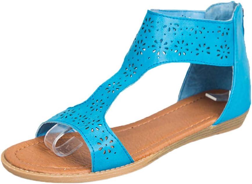 Gladiator PUNK Casual Rome Mocassins Femmes Lacet Plat Chaussures Bout Pointu Sandales