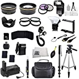 The EVERYTHING YOU NEED Package for Nikon D3100 and Nikon D3200 Digital SLR Cameras. Includes: Wide Angle & Telephoto Lenses, Filters, Batteries, Flash, Tripod, Monopod, Case, 32GB Memory Card & Much Much More!