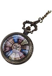 WZC Colorful Time Quartz Pocket Watch