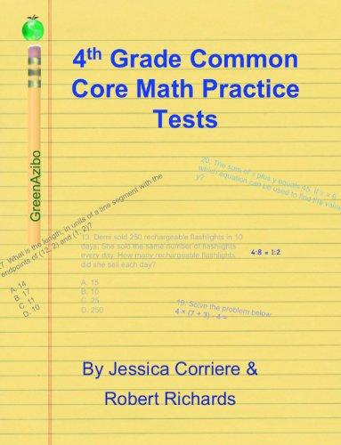 Amazoncom 4th Grade Common Core Math Practice Tests Ebook Jessica