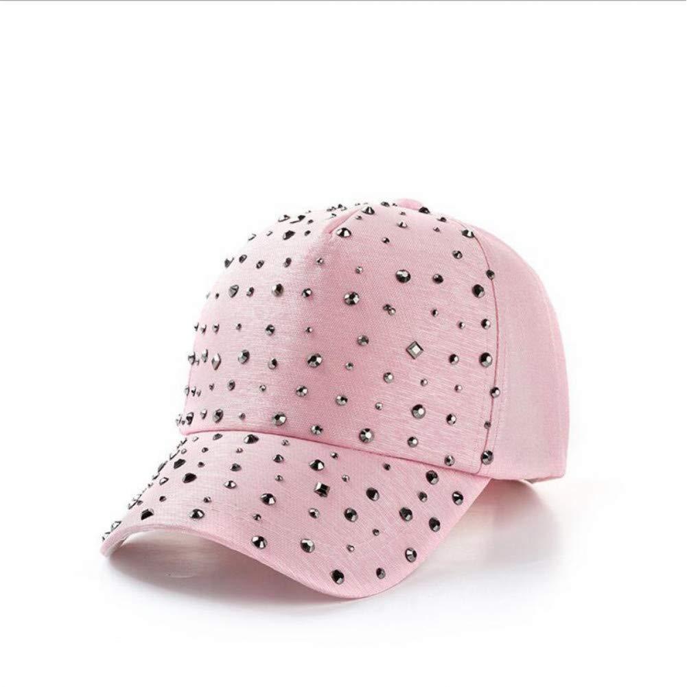 ZSGCCAP Gorra Sombreros De Diamantes De Imitación De Las Mujeres ...