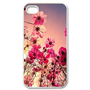 Personalized Unique Design Case for iPhone 6 4.7, Pink Flower Cover Case - HL-2967177