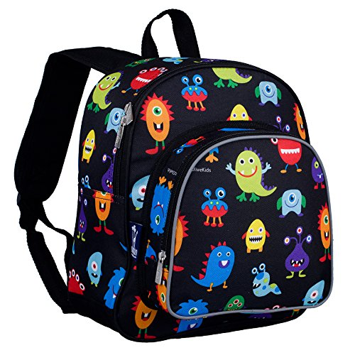 Olive Kids Monsters Pack 'n Snack Backpack