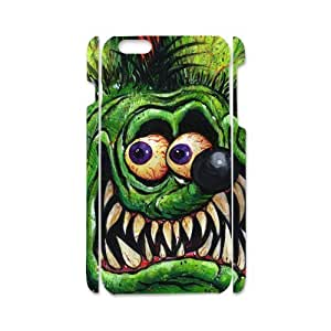 iPhone6 4.7 Case Green Cute Rat Fink Pattern iPhone6 4.7
