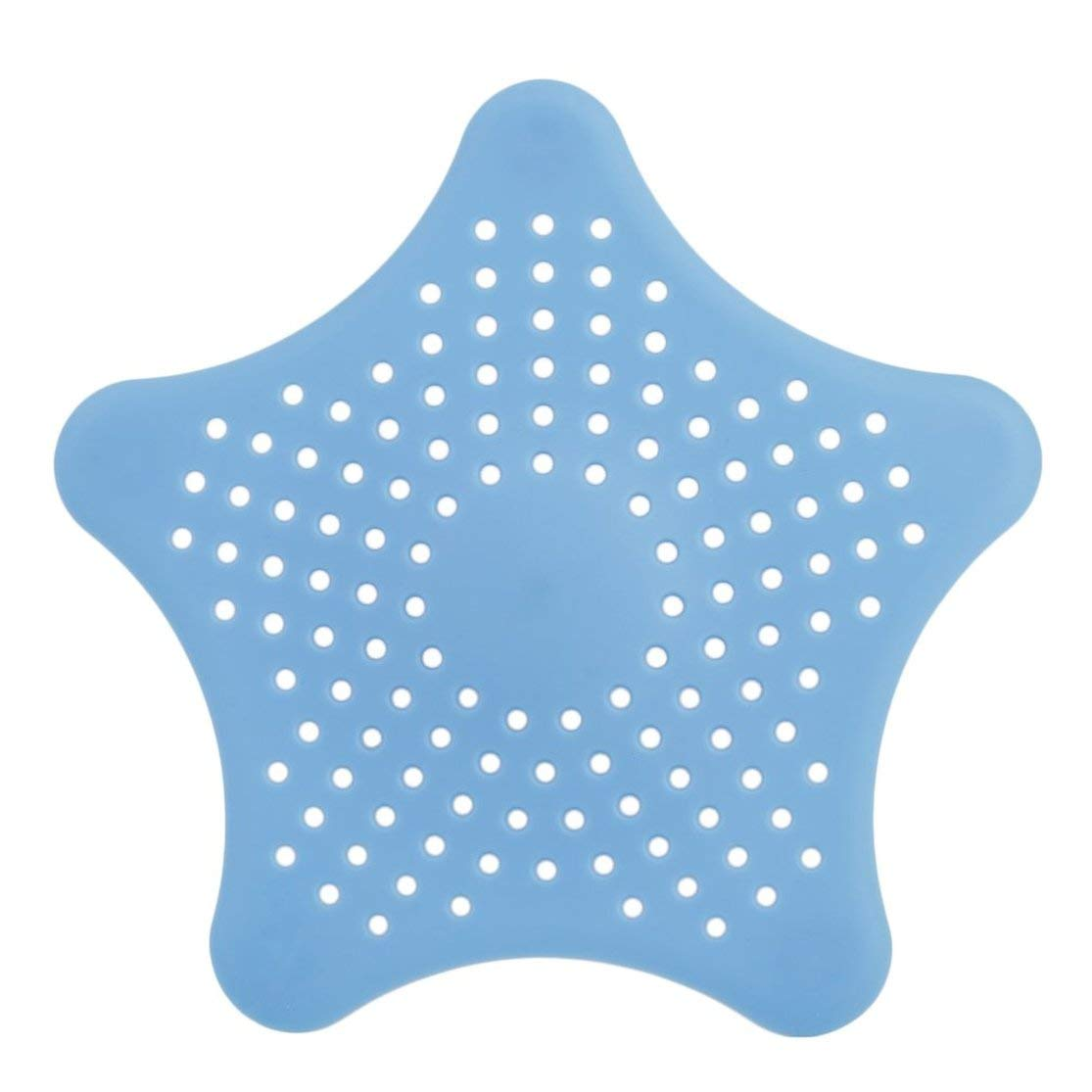 LouiseEvel215 Star Shape Plastica Cucina Mint Plan Bagno Doccia Drain Cover Waste Sink Colino Filtro Capelli Catcher Casa Gadget Cesto