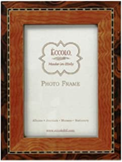 amazon com eccolo made in italy marquetry wood frame burl wood