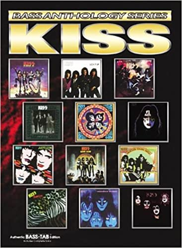 USED KISS Best Wide Edition Japan Band Score Guitar Bass Tab Sheet Music Book
