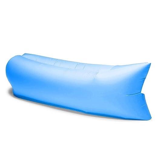 Cama hinchable estilo sofá-cama, ideal para playa y montaña ...