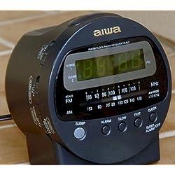 AIWA FR-A37U Digital Clock Radio Alarm
