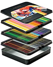 VicTsing Colored Pencils with 5mm Soft Thick Care (Harder Than Normal 2.8mm Core, Not Easy Break), 24 Assorted Color Pencil Set for Adults Kids, Bonus Sharpener