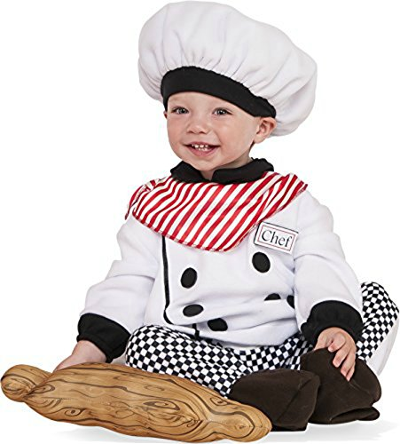 Rubie's Costume Co. Baby Little Chef Costume, As Shown, Infant (Pin Junior Rolling Pin)