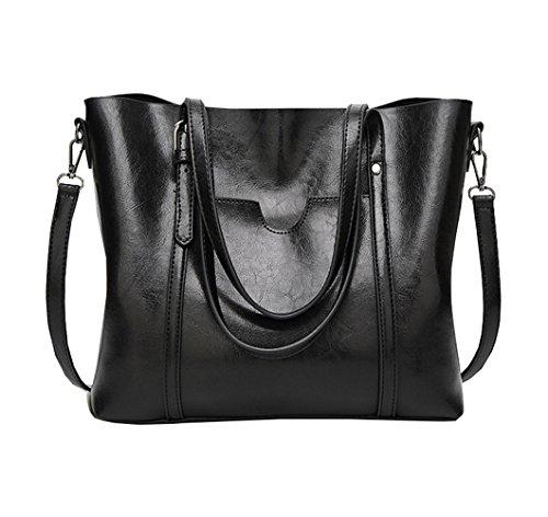 Bag BBPPDD Handbags Top Purse Shoulder Tote Handle Black Satchel Women IqnYxHnS