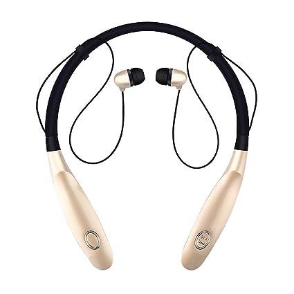 Auriculares Bluetooth InaláMbrico, Banda para El Cuello Auriculares Bluetooth ReduccióN De Ruido Auriculares Deportivos Bluetooth