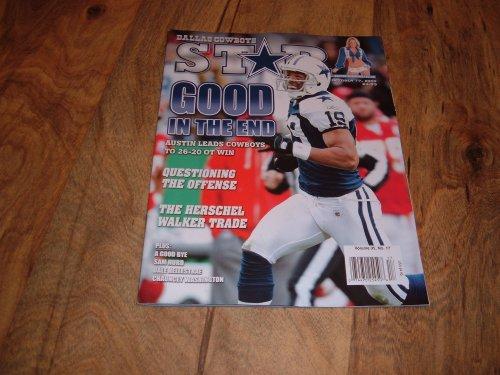 Miles Austin, Dallas Cowboys-Dallas Cowboys Star magazine, October 17, 2009 issue. ()