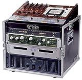10u mixer case - Road Ready RRM8U 10U Slant Mixer Rack/8U Vertical Rack System