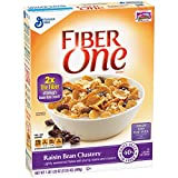 Fiber One Raisin Bran Clusters, 17.25-Ounce Boxes (Pack of 4)