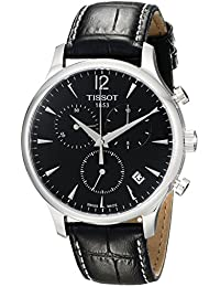 Men's T063.617.16.057.00 Black Dial Tradition Watch