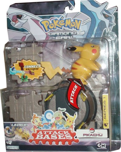 Pokemon Diamond & Pearl Series 1 Attack Bases