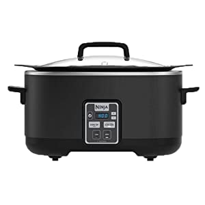 BRAND NEW Ninja 2-in-1 6 Quart Stove Top Digital Slow Cooker Cooking System with Recipes (Renewed)