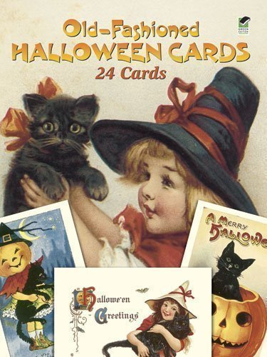 Old-Fashioned Halloween Postcards: 24 Full-Colour Ready-to-Mail Cards (Dover Postcards) [28 March 2003]]()