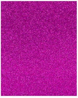 Pack de 3 hojas de goma Eva fucsia con purpurina, 40 x 60 ...