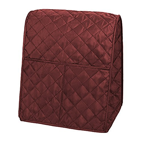 Mixer Cover for Kitchenaid,Unee1 Portable Dustproof Stand Mixer Cover with Organizer Bag Gadget Tool (Cranberry)