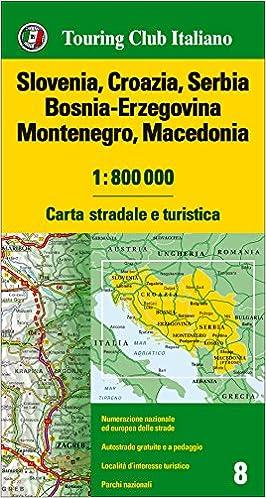 Cartina Stradale Slovenia Pdf.Giusto Palude Talentuoso Stradario Itinerario Amazon Settimanaciclisticalombarda It